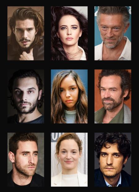 D'Artagnan et Milady : le casting