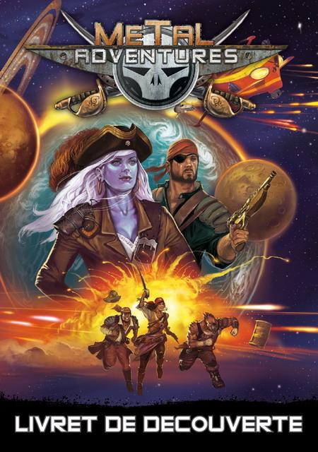 Metal Adventures édition anniversaire livret découverte