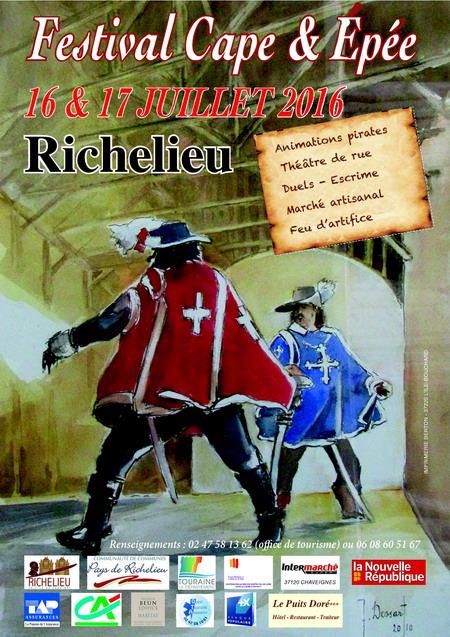 Onzième festival de cape et d'épée de Richelieu