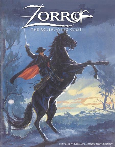 Zorro, le jeu de rôle, Zorro RPG