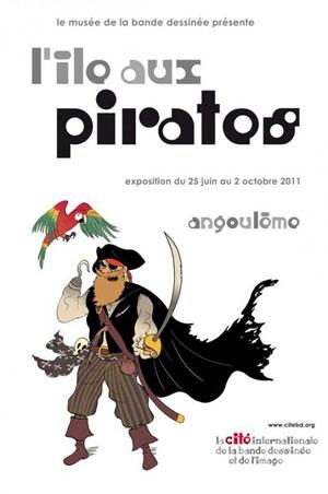 Exposition l'île aux pirates à Angoulême