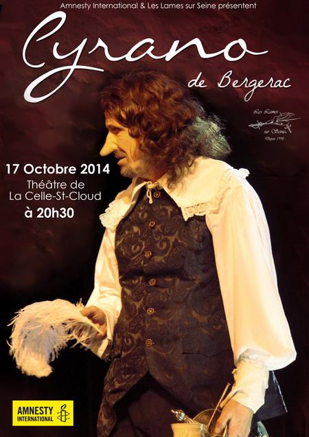 Cyrano au théâtre - Les lames sur Seine
