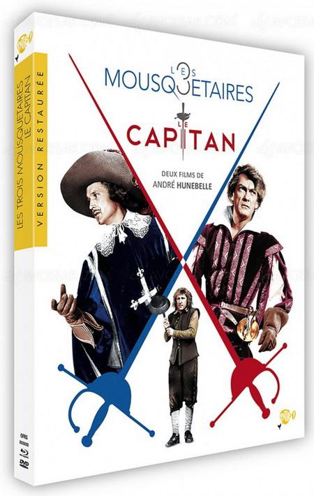 coffret Le Capitan/Les 3 mousquetaires