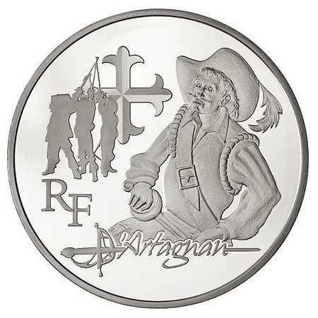 Monnaie de Paris - d'Artagnan
