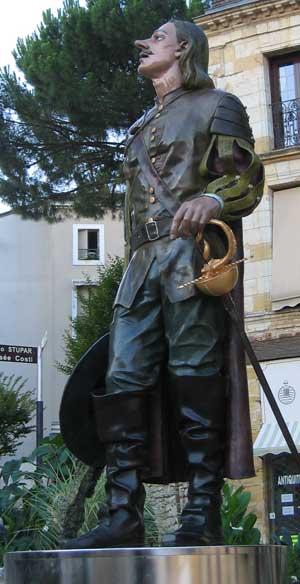 Cyrano - Statue de Bergerac