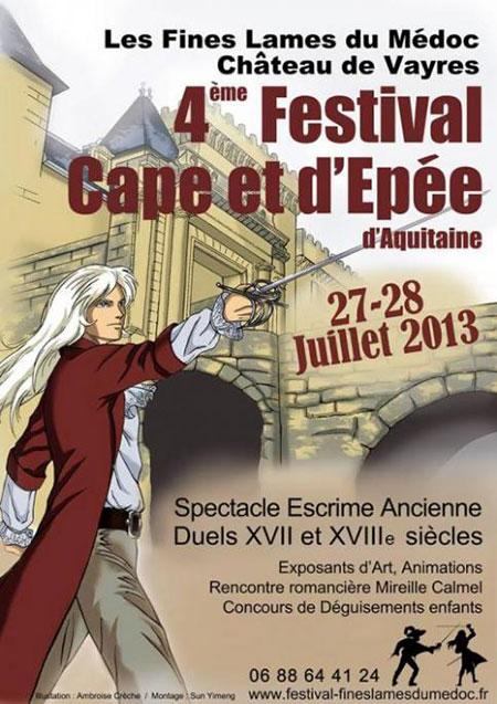 Quatrième festival de cape et d'épée d'Aquitaine