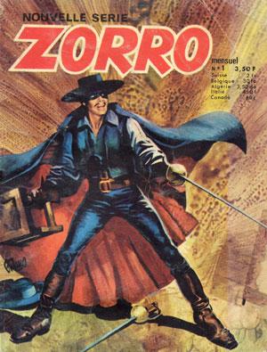 Zorro n°1, février 1977